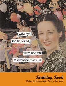 "Anne Taintor ""Birthdays To Remember"" Book"