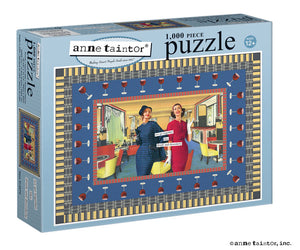 "Anne Taintor Puzzle ""we go together like drunk and disorderly"""