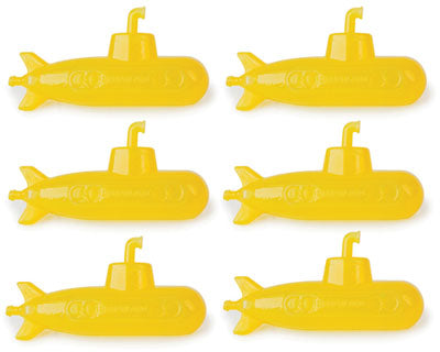 Reusable Submarine Ice Cubes ...Set of 6