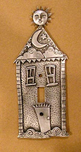 """Dream House"" switchplate cover by Leandra Drumm (#84)"