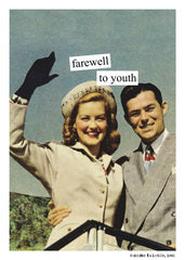 farewell to youth~Birthday card
