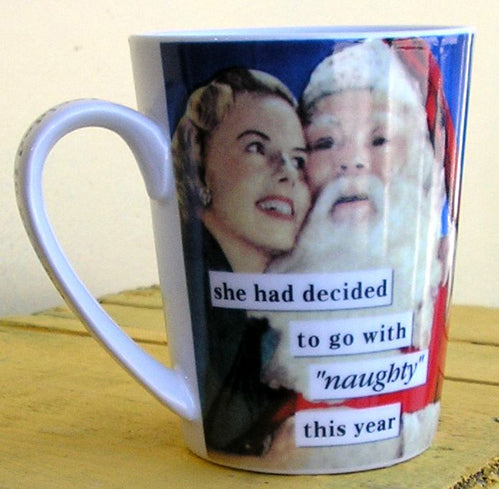Anne Taintor Mug 'Naughty'