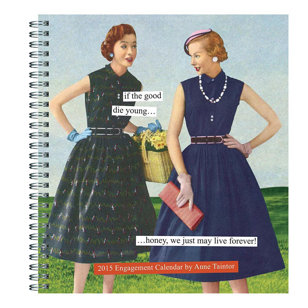 2015 Engagement Calendar by Anne Taintor