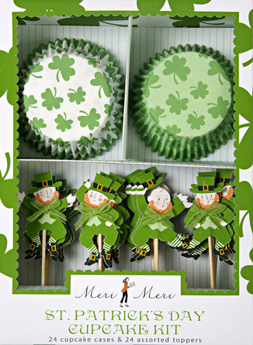St. Patrick's Day Cupcake Kit!