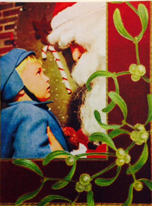 Anne Taintor Holiday Card-Kissing No one