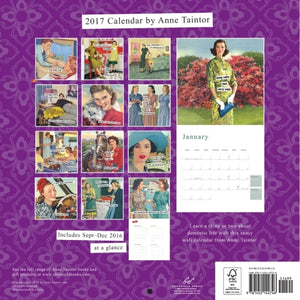 2017 Wall Calendar by Anne Taintor