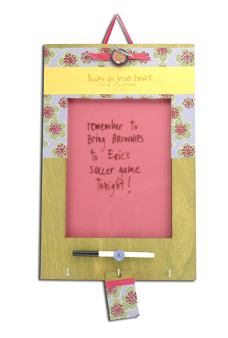 Dry Erase Board Know in your heart
