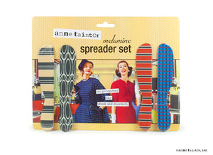 Anne Taintor Spreader Set ~ drunk and disorderly