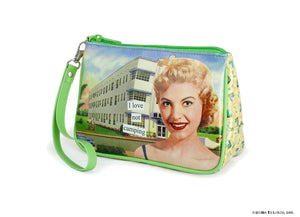 Anne Taintor Cosmetic Bag/ I love Not Camping