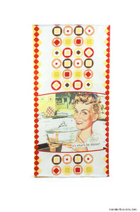 "Kitchen Towel ~ ""nothing... it's what's for dinner"""