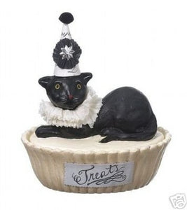 "Nicol Sayre ""Party Kitty"" Treats container"