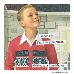 "Anne Taintor Magnet, ""I'm fabulous"""