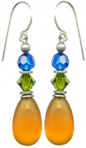 Owen Glass Earrings, #74