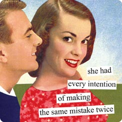 New Anne Taintor magnet, the same mistake