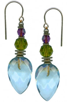 Owen Glass Earrings, #506