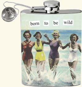 Anne Taintor Flask - Wild