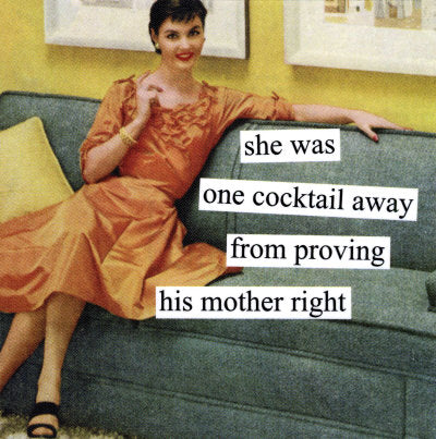 New Anne Taintor magnet, one cocktail