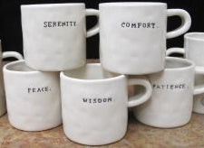 Word Mugs by Rae Dunn