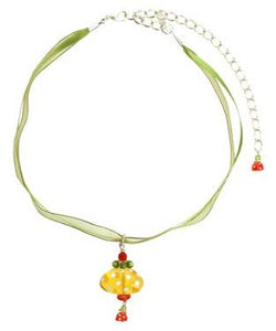 Orna Lalo Necklace, Flower  Dots