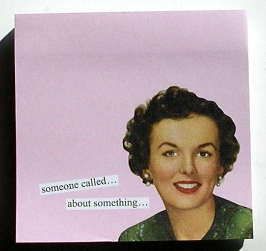 Anne Taintor Sticky Notes, called