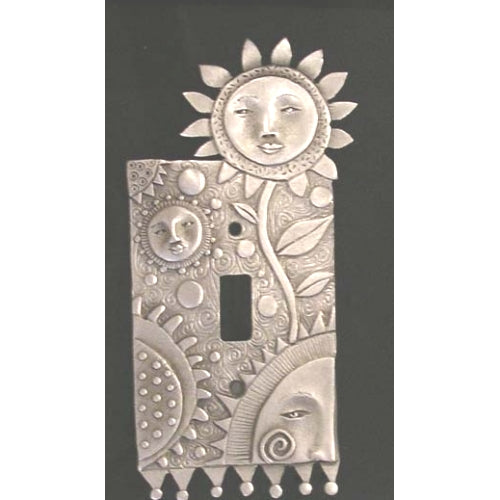 Flower Faces switchplate cover (#83)