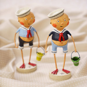 """Sailor Boys"" set of 2  by Lori Mitchell"