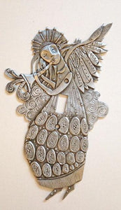 """Winged Trumpeter"" switchplate cover by Leandra Drumm (#147)"