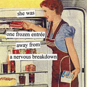 Anne Taintor napkins ~ nervous breakdown