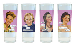 Anne Taintor Shot Glasses (medicated)
