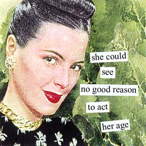 New Anne Taintor magnet, No good Reason