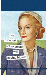 Anne Taintor Mini Notes - Blonde