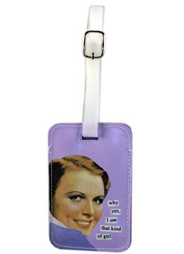 Anne Taintor Luggage Tag/that kind