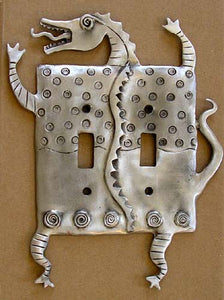 Dragon Double Switch Plate by Leandra Drumm (#9)