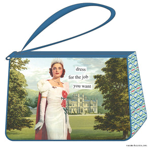 "Anne Taintor Cosmetic Bag....""dress for the job you want"""