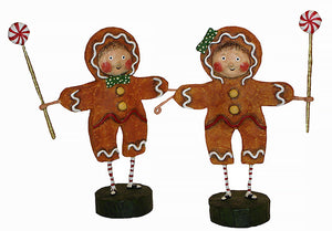 """Gingerbread Boy & Girl"" by Lori Mitchell"