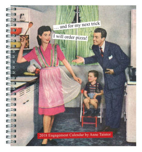 2018 Desk Calendar by Anne Taintor