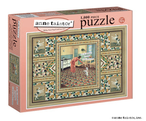 "Anne Taintor Puzzle ""oh, the challenges of raising a truly gifted child!"""
