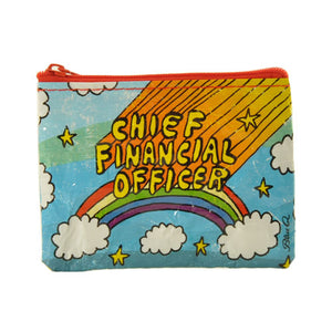 """Chief Financial Officer"" Coin Purse"