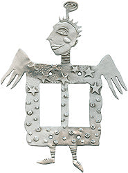 Angel dbl dimmer switchplate cover, Leandra Drumm (#12)