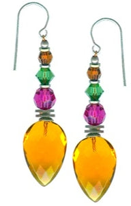 Owen Glass Earrings, #457