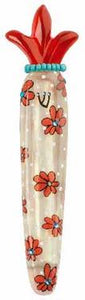 Orna Lalo Mezuzah (red crown)