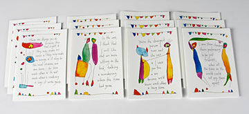 Brian Andreas set of Friendship Cards