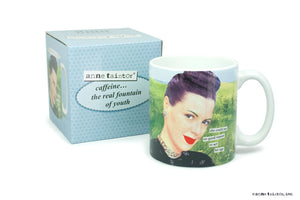 "Anne Taintor Mug  ""she could see no good reason..."""