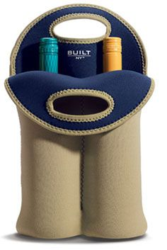 Built NY Two-Bottle Wine Tote ~ Khaki