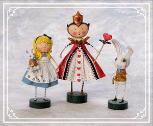 """Alice, the Queen of Hearts and the White Rabbit!"" by Lori Mitchell"
