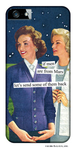 Anne Taintor Snap-On Case ~ Men are from Mars ~ Fits iPhone 5/5s