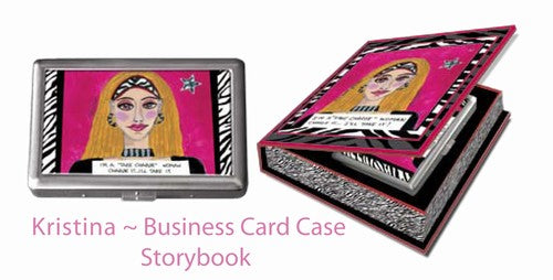 Business Card Case in gift box!