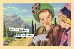 "Magnetic Postcard ""Thelma"""