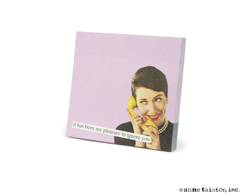 Anne Taintor Sticky Notes: ignore