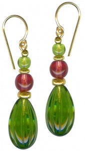 Owen Glass Earrings, #801